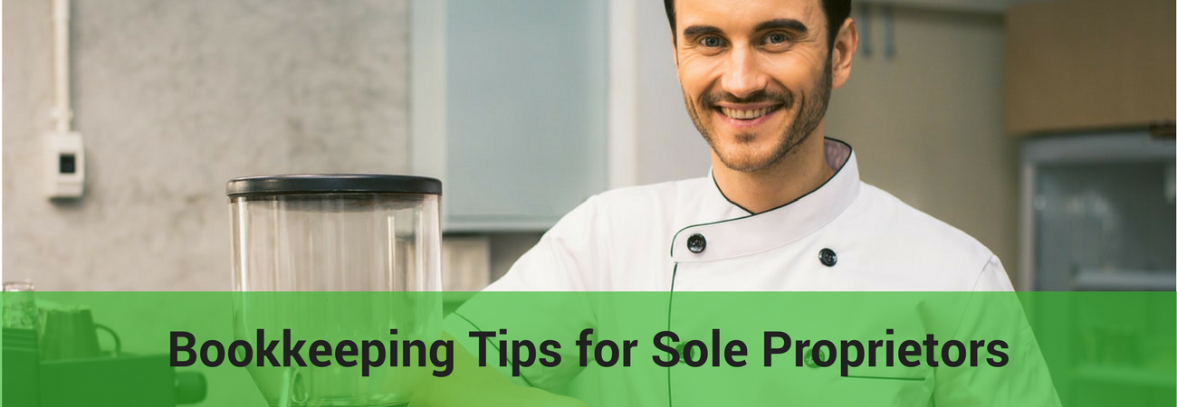 bookkeeping tips for sole proprietors