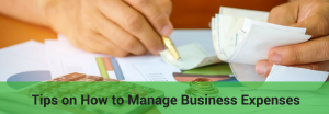 how to manage business expenses