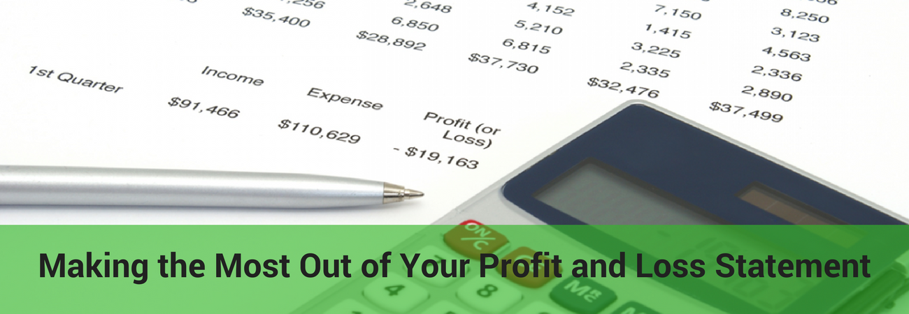 making the most out of your profit and loss statement on demand