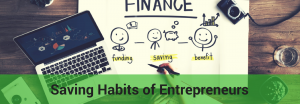 how entrepreneurs should save money