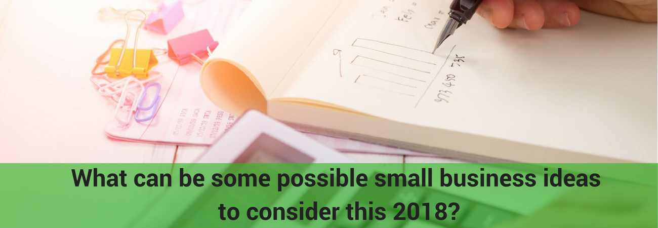 find out which small business to put up this 2018