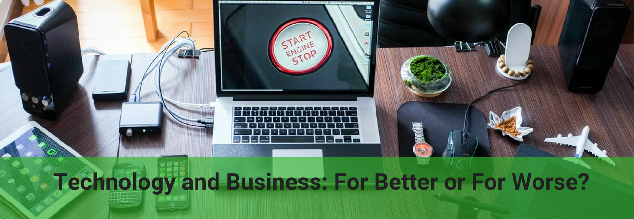how technology benefits the business