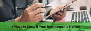 how you spot an honest bookkeeper