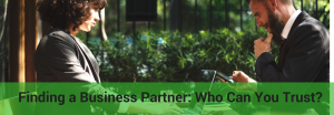 how to look for a business partner