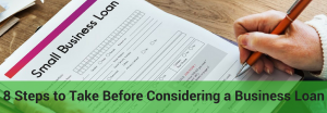 things to consider before taking a business loan