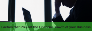 what hinders business financial growth